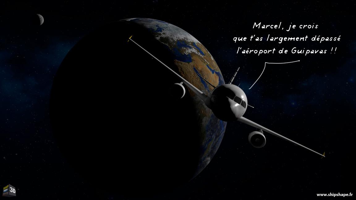 Un Airbus dans l'espace !